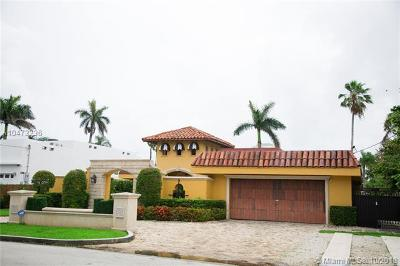 Miami, Miami Beach Single Family Home For Sale: 1080 NE 84th St
