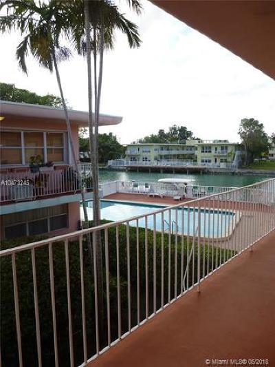 Miami Beach Condo For Sale: 1255 Marseille Dr #24