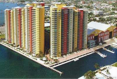 Riviera Beach Condo For Sale: 2650 Lake Shore Dr #2505