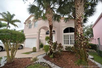 Pembroke Pines Single Family Home For Sale: 1510 NW 159th Ave