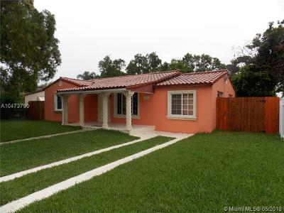 West Miami Single Family Home For Sale: 6436 SW 11th St