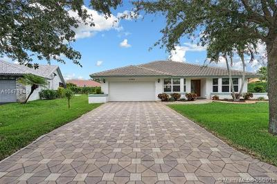 Coral Springs Single Family Home For Sale: 11896 NW 2nd Ct
