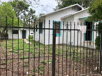 Miami Single Family Home For Sale: 138 NW 45th St