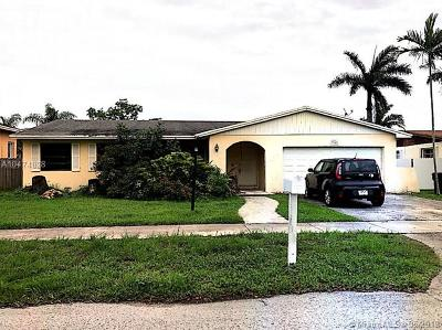 Cutler Bay Single Family Home For Sale: 7960 SW 196th Ter