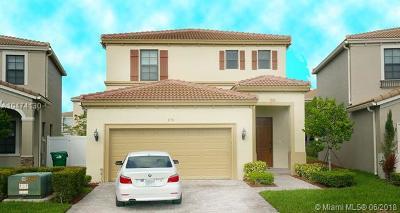 Miami Single Family Home For Sale: 578 NE 191st Ter