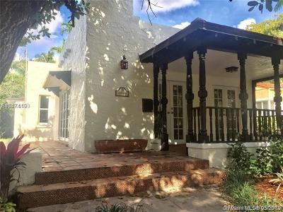 Coral Gables Rental For Rent: 1206 Pizarro St