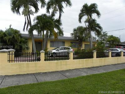 Cutler Bay Single Family Home For Sale: 8900 SW 199th St