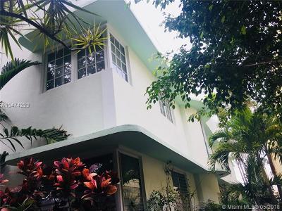 Miami Beach Condo For Sale: 1351 Meridian Ave #2