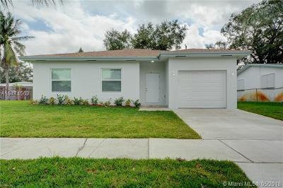 West Park Single Family Home For Sale: 4628 SW 31st Dr