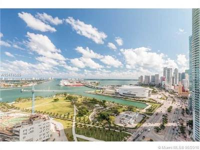 Miami Condo For Sale: 1100 Biscayne Bl #2705