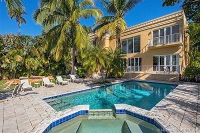 Bay Harbor Islands FL Single Family Home For Sale: $5,999,999