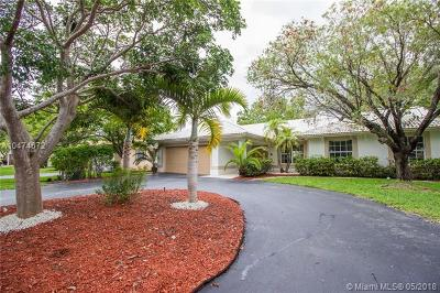 Coral Springs Single Family Home For Sale: 244 NW 123rd Ln