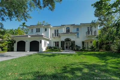 Miami Single Family Home For Sale: 3900 Battersea Rd