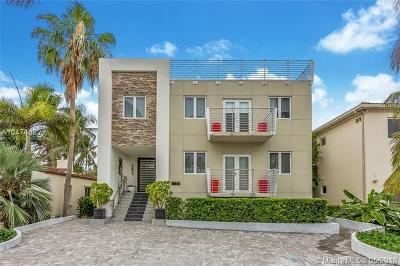 Miami Beach Single Family Home For Sale: 215 Palm Ave