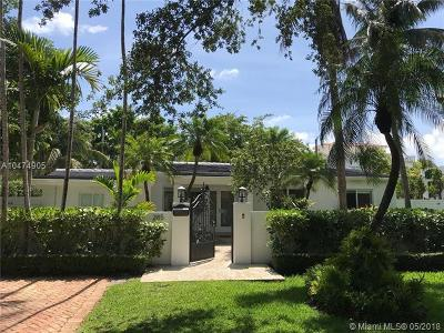 Key Biscayne Single Family Home For Sale: 285 Glenridge Rd