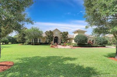 Davie Single Family Home For Sale: 14400 Jockey Cir S