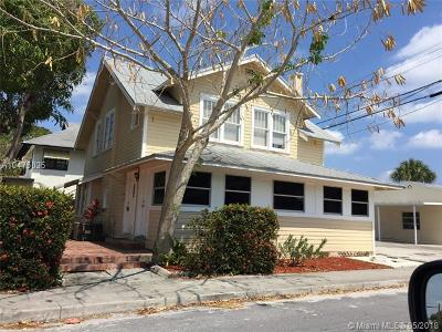 Lake Worth Single Family Home For Sale: 312 4th Avenue