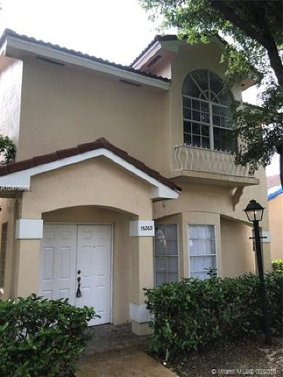 Miami Single Family Home For Sale: 15263 SW 111th Street