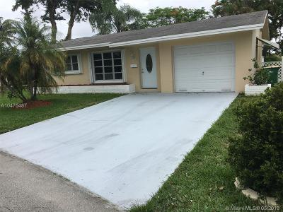 Tamarac Single Family Home Backup Contract-Call LA: 5600 NW 47th Lane