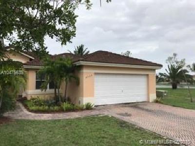 Miami Condo For Sale: 4533 SW 163rd Ave