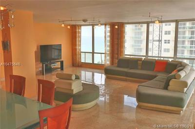 Hollywood Condo For Sale: 2751 S Ocean Dr #1108S