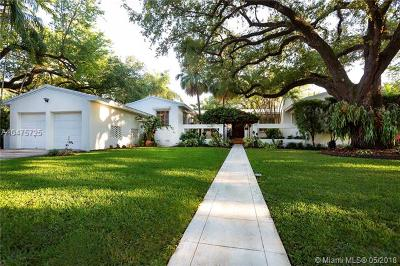 Coral Gables Single Family Home For Sale: 1460 Mantua Ave