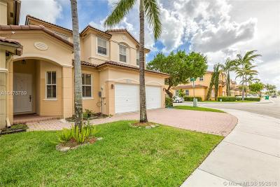 Doral Condo Active With Contract: 11272 NW 75th Ln