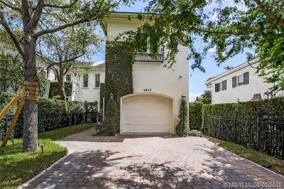 Coral Gables Condo For Sale: 4819 University Dr #4819