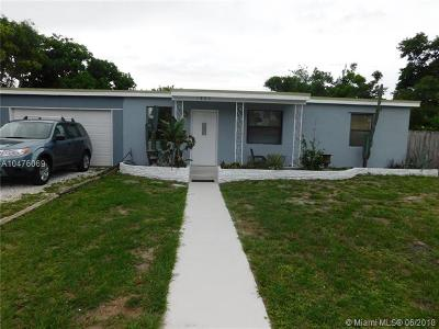 Pompano Beach Single Family Home For Sale: 1865 NE 53rd Ct