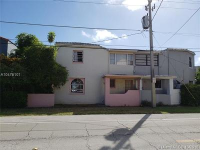 Miami Beach Single Family Home For Sale: 335 W 28th St