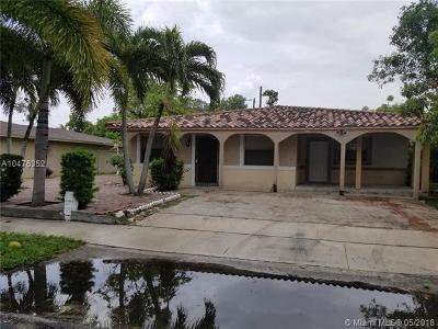 Pompano Beach Single Family Home For Sale: 2872 NW 3rd St