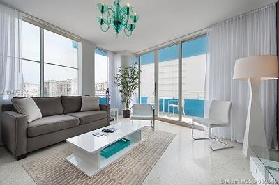 Miami Beach Condo For Sale: 225 Collins Ave #6L
