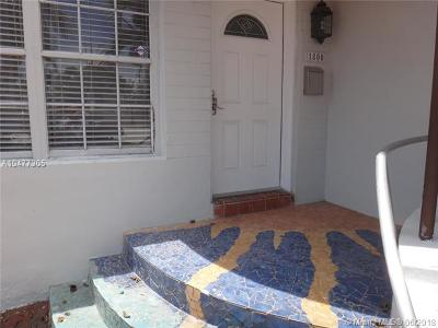 Miami Beach Single Family Home For Sale: 1800 71st St