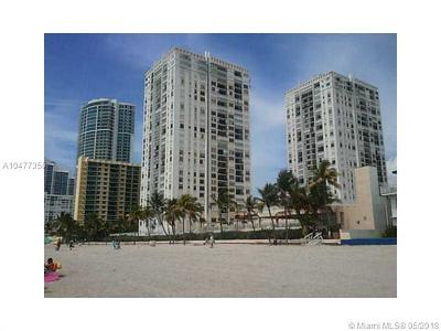Hollywood Condo For Sale: 2101 S Ocean Dr #1604