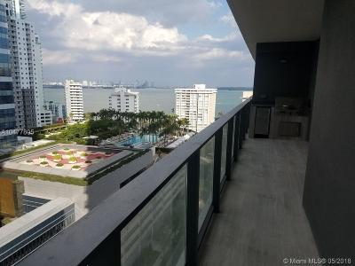 Echo Brickell, Echo Brickell Condo Condo For Sale: 1451 Brickell Ave #1506