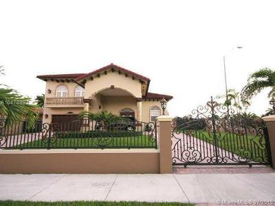Miami Single Family Home For Sale: 13690 SW 34th St