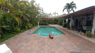 Miami Single Family Home For Sale: 6502 SW 107th Ct