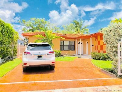 Miami Beach Single Family Home For Sale: 1339 71st St
