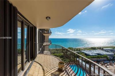 Surfside Condo For Sale: 8777 Collins Ave #810