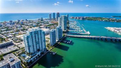 Miami Beach Condo For Sale: 650 West Ave #2011