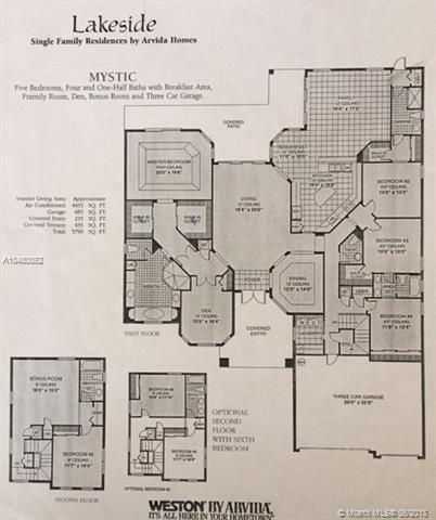 915 Tradewinds Bend, Weston, FL.| MLS# A10480852 | Century 21 ... on engle homes floor plans, buckingham homes floor plans, windsor homes floor plans, centex homes floor plans, coppenbarger homes floor plans, classic american homes floor plans,