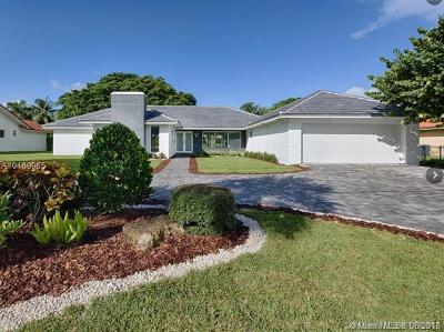 Hallandale Single Family Home For Sale: 807 Diplomat Pkwy