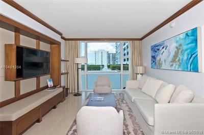 Miami Beach Condo For Sale: 6801 Collins Ave #605