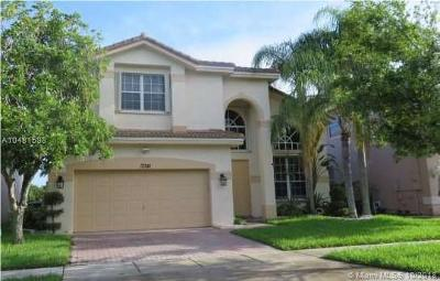 Miramar Single Family Home For Sale: 17341 SW 33rd St