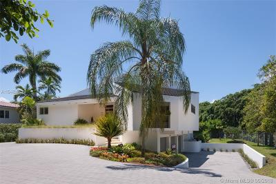 Coral Gables Single Family Home For Sale: 7300 Old Cutler