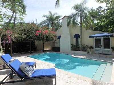 Miami FL Single Family Home For Sale: $1,098,000