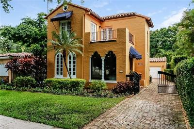 Coral Gables Single Family Home For Sale: 1532 Catalonia Ave