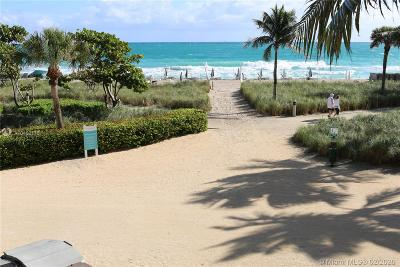 Bal Harbour Condo For Sale: 9801 Collins Ave #14U