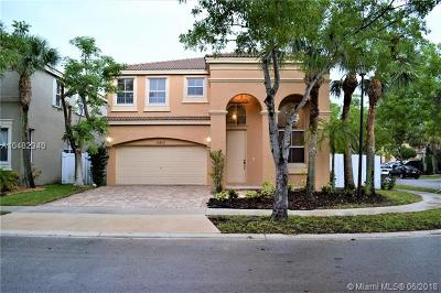 Miramar Single Family Home For Sale: 15803 SW 48th Pl