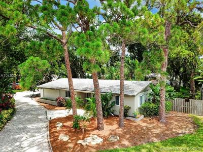 Wilton Manors Single Family Home For Sale: 1409 NE 27th Dr